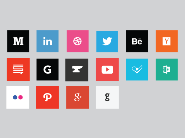 Social Media Icon Pack! by Chris Guimarin