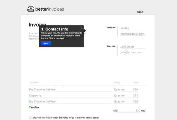 Better Invoices