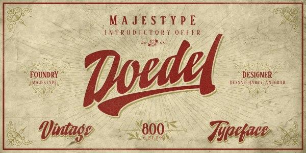 Doedel by Majestype