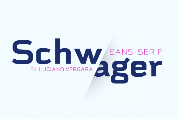 Schwager Sans Family by Latinotype