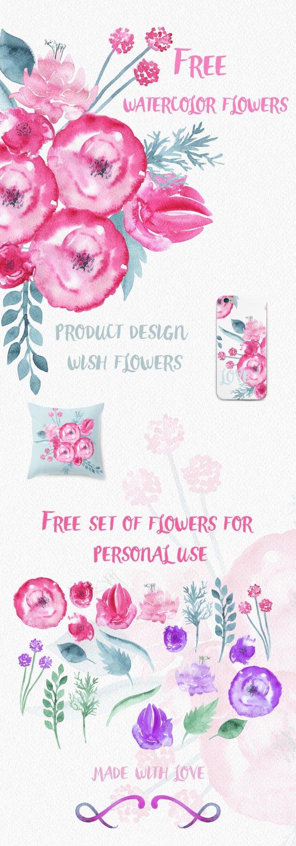 Watercolor Flowers-min