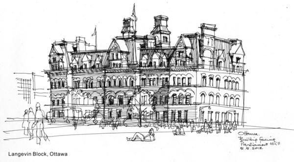 sketch by Raymond Tse