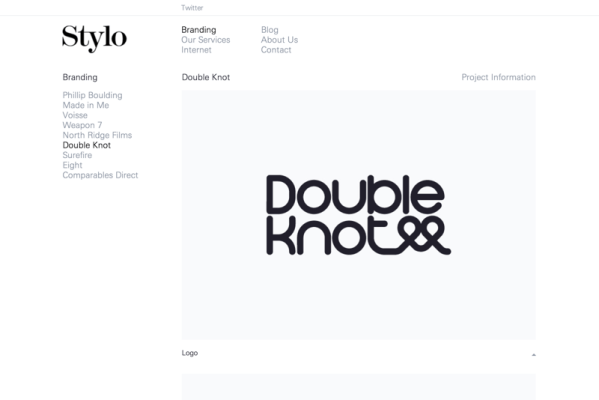 Double Knot Branding