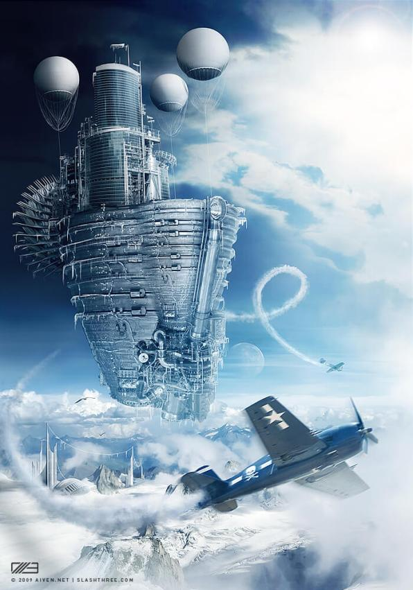 SteamPunk IceCream by aiiven