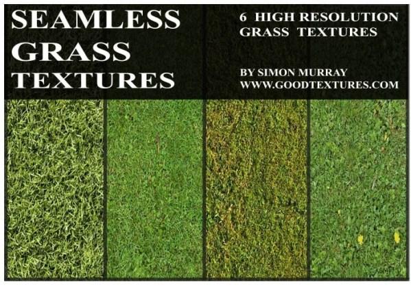 Seamless Green Grass Textures (1)