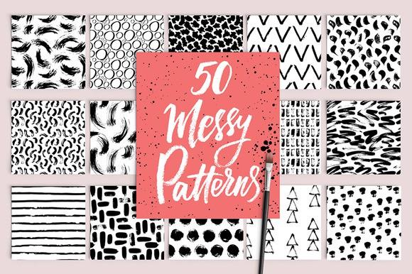 50 Messy Patterns