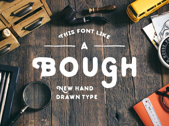 Bough free font
