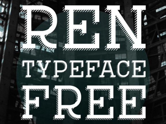 Ren free font