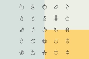 1,100 Free Food Icons