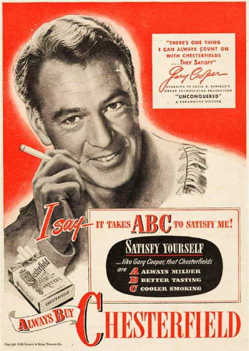 Vintage Smoking Ads