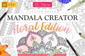 Mandala Creator Pro Floral Edition Download