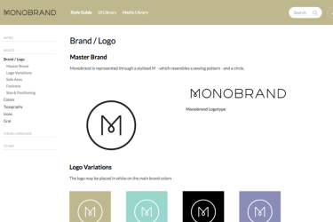Create Beautiful brand Guidelines