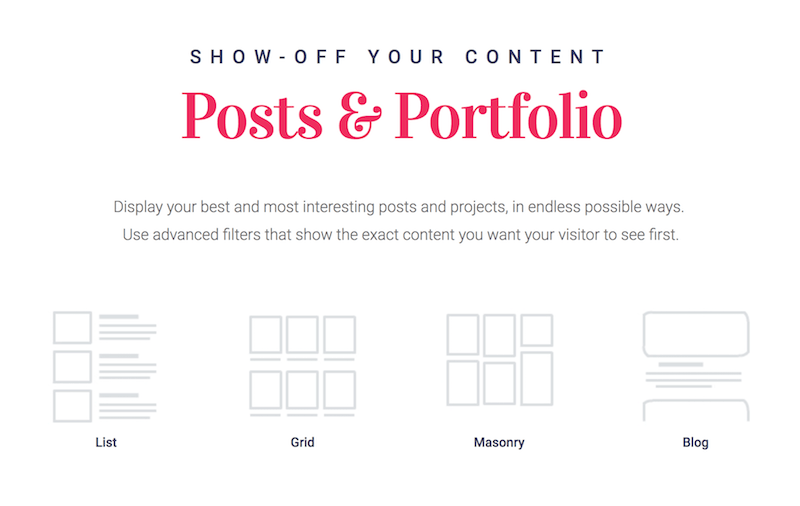 Show Off Your Content