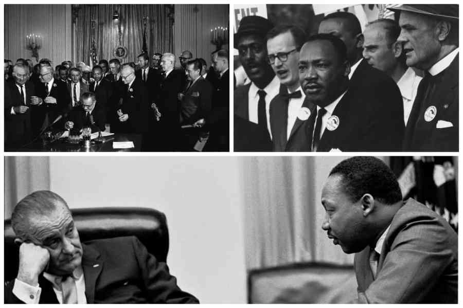 Martin Luther King Jr in Washington D.C