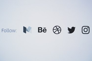 Social Media Icons on a Blog