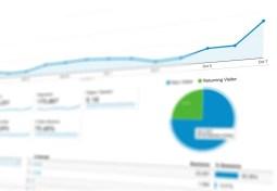 Google Analytics screenshot of traffic growth
