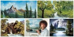 Bob Ross Collage