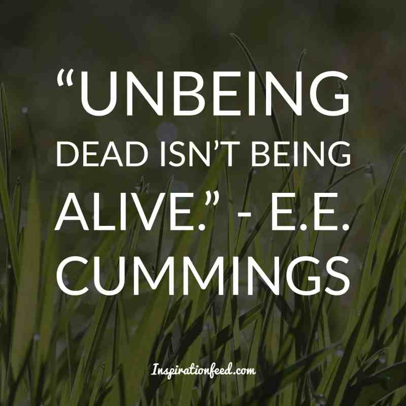 E.E. Cummings quotes