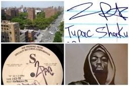 Tupac Shakur Life Collage