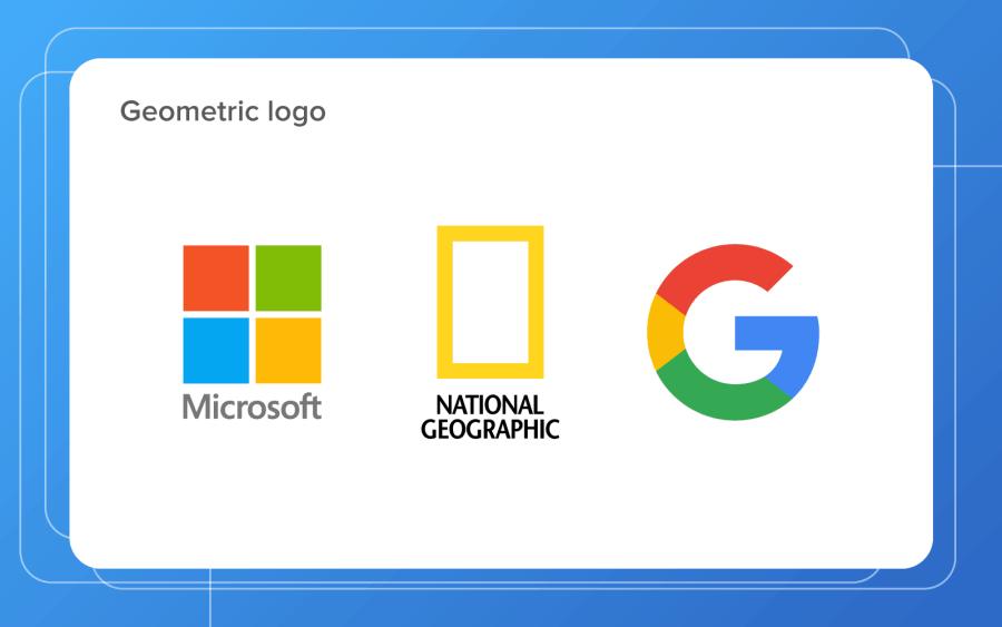 geometrical logo designs