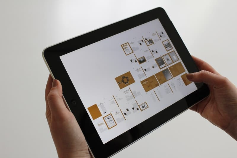 using a tablet device for creativity