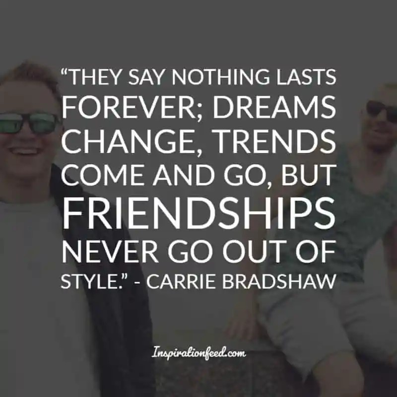 25 Best Carrie Bradshaw Quotes On Love And Relationships Inspirationfeed