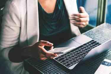Woman Doing Digital Marketing at Work