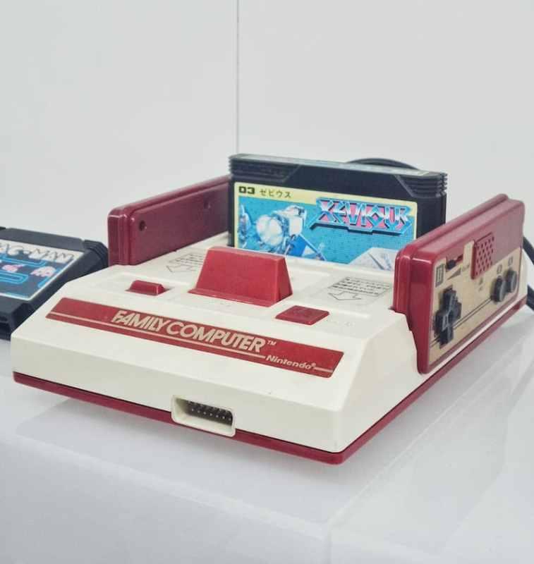 Vintage Nintendo Video Game System