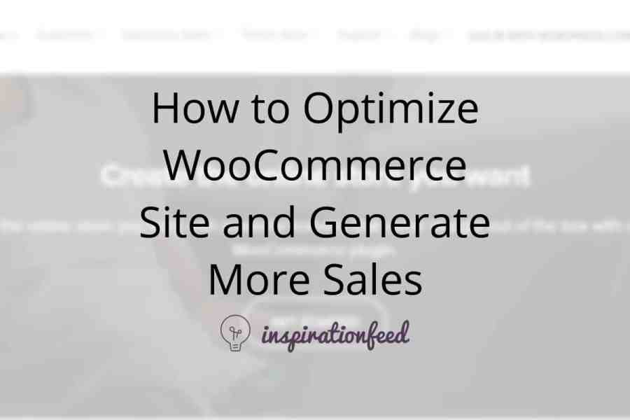 how to optimize woocommerce featured