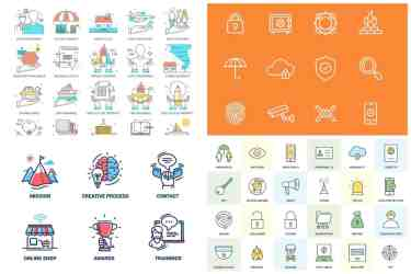 Insurance Icon Sets