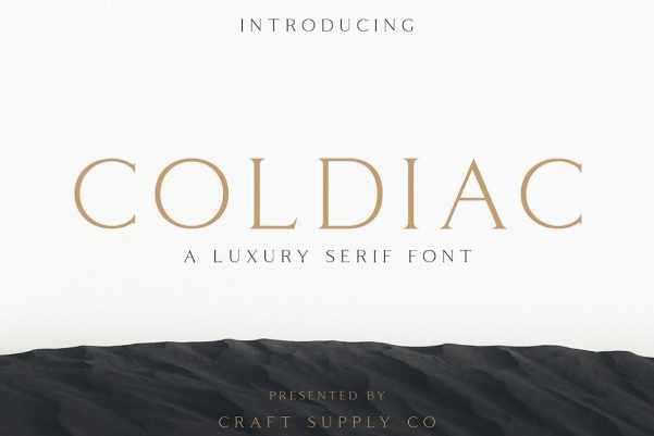 Coldiac-Font