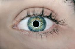 Ring Light in Eye Reflection