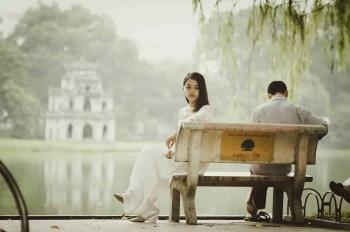 Woman feeling distant from her love partnerjpg