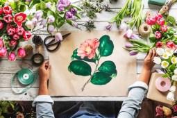 Stunning Flower Painting