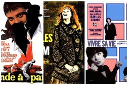 Film Posters from French New Wave Cinema