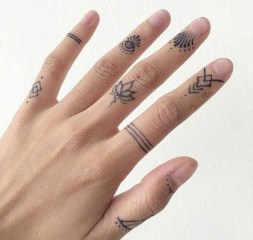 Cute Finger Tattoo Ideas