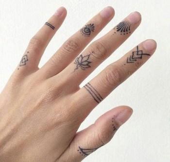 Cute Finger Tattoo Ideas
