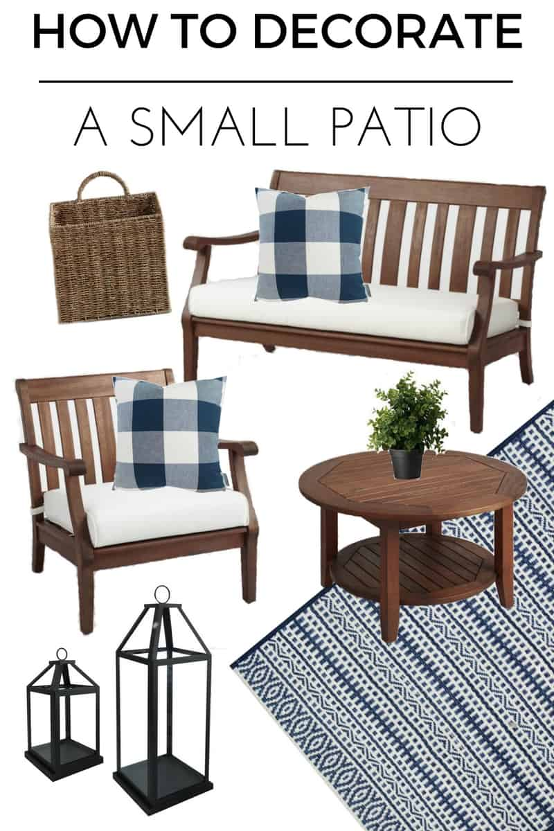 how to decorate a small patio you ll