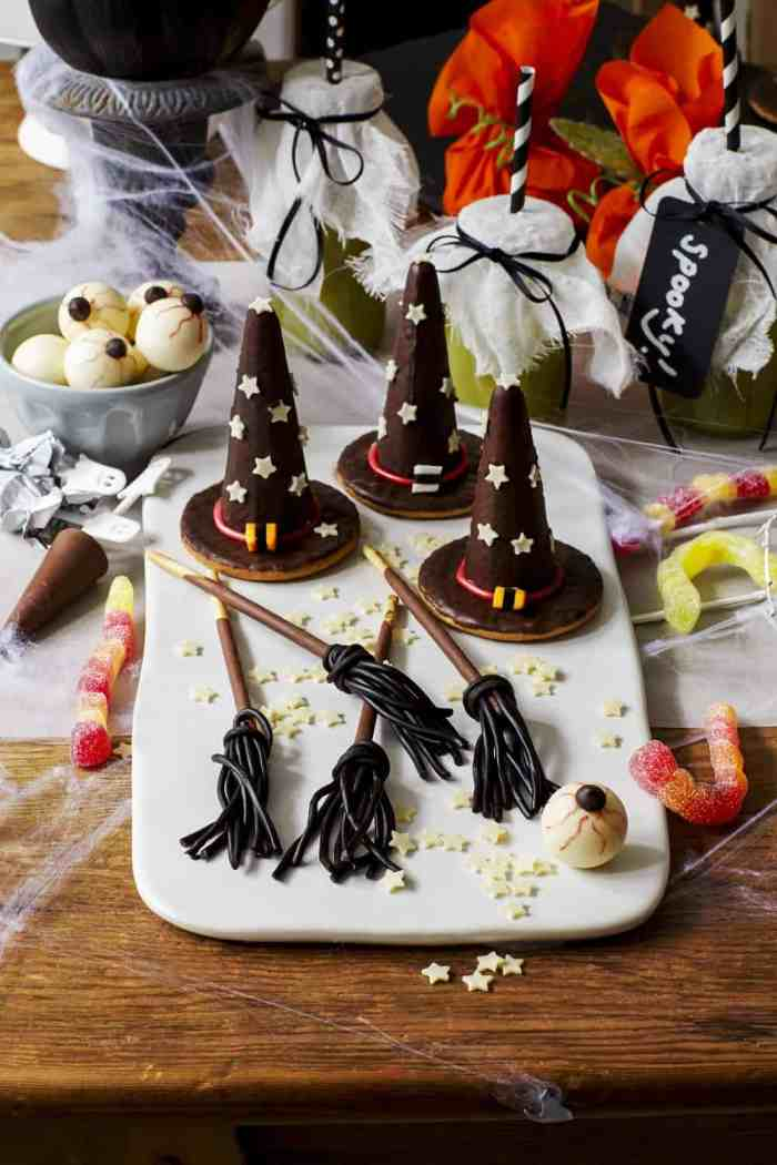 Witches Hats and Broomsticks