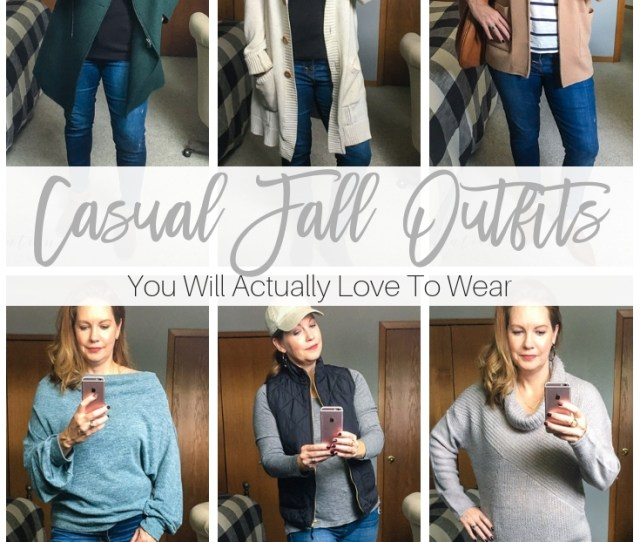 Casual Fall Outfits Youll Actually Love To Wear Inspiration For