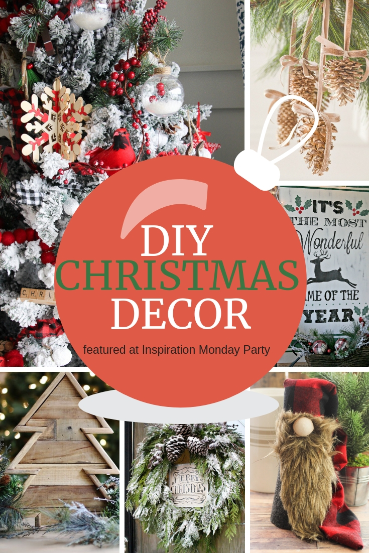 Six DIY Christmas Decor projects to inspire you!