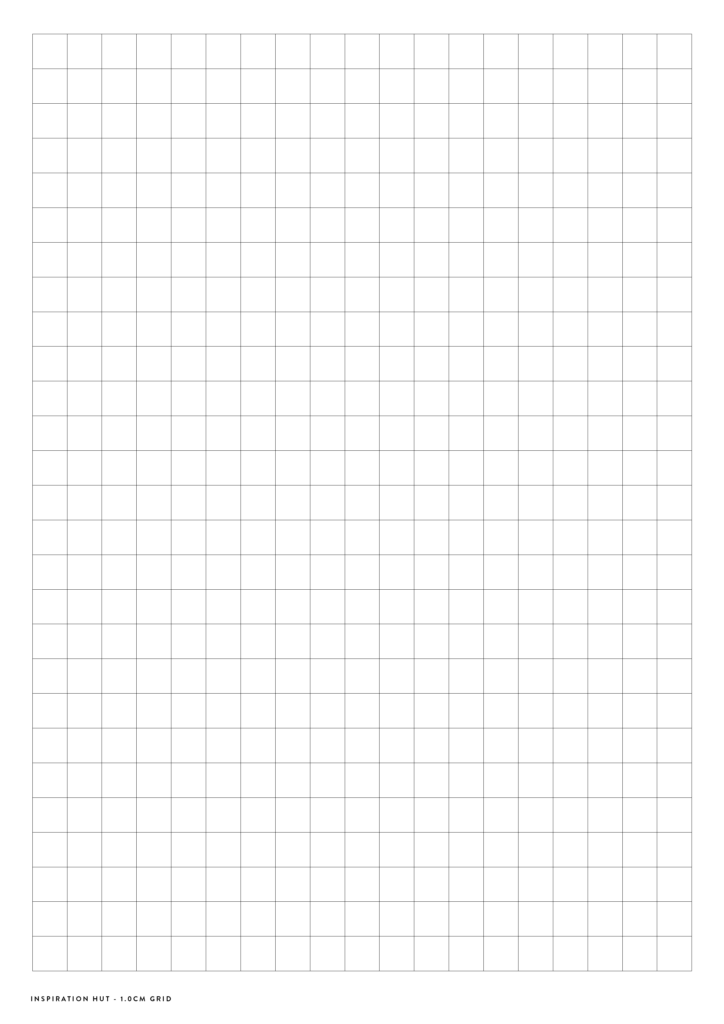 Printable Graph Grid Paper Templates