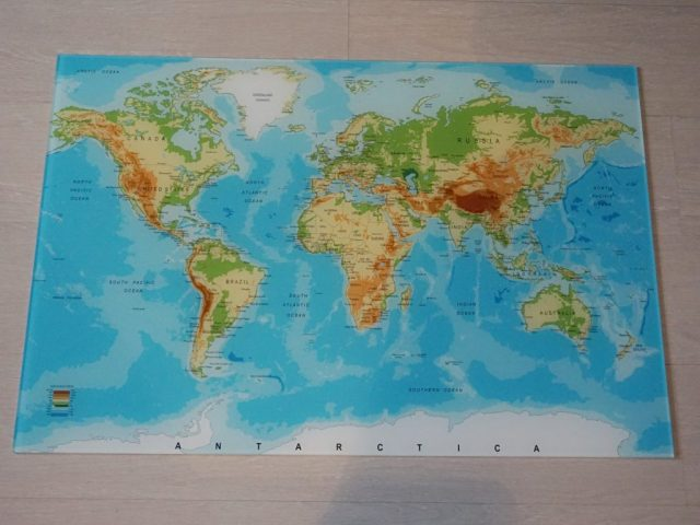 Onze wereldkaart van wereldkaarten.nl