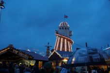 Winter Wonderland, Hyde Park London - Deed mij denken aan Rollercoaster tycoon