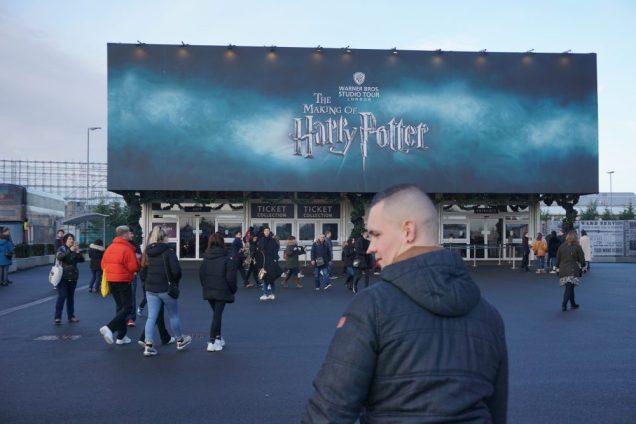 Warner Bros Harry Potter Tour Ingang