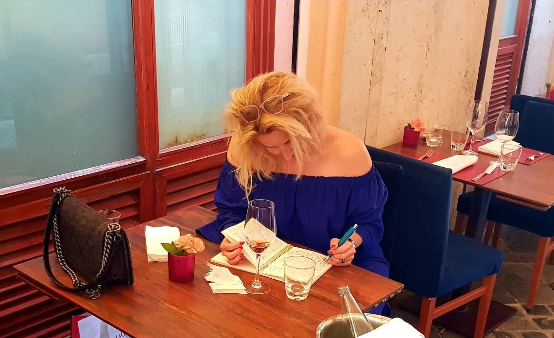 sylvia van Sylvia.nl, in Rome