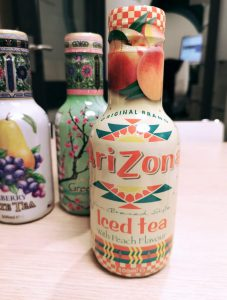 Arizona - Iced tea with peach flavour