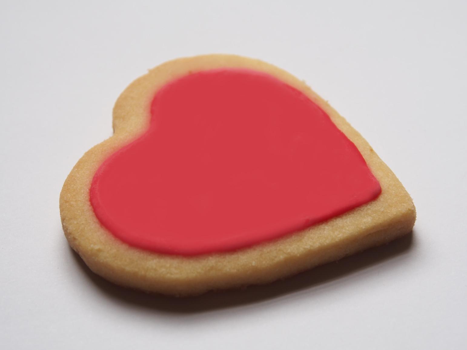 Valentine Heart Biscuits Inspiration Rose