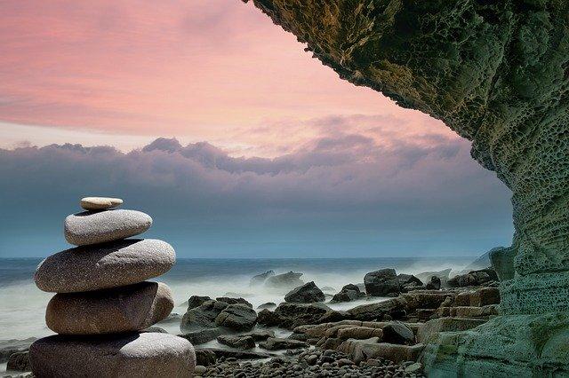 Paysage zen propice à la cohérence cardiaque