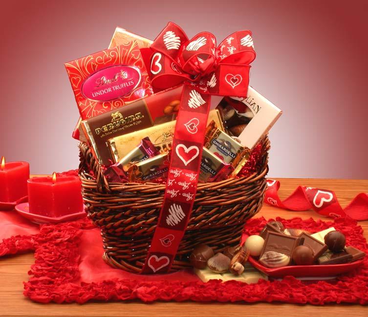 Valentine Gift Baskets Ideas